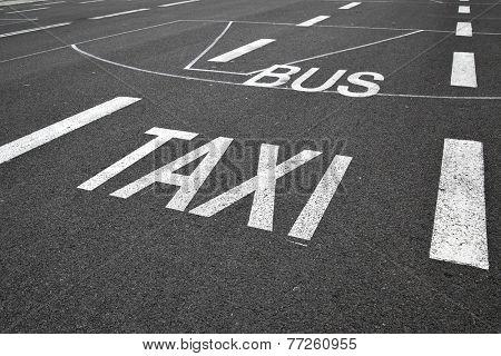 Public conveyance marking
