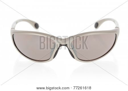 Sports sunglasses isolated on a white background