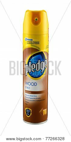 Pledge Wood 5-in-1 Furniture Spray
