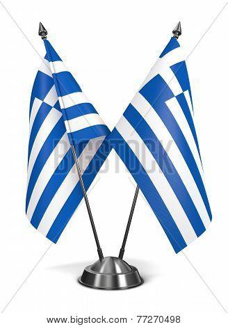 Greece - Miniature Flags.