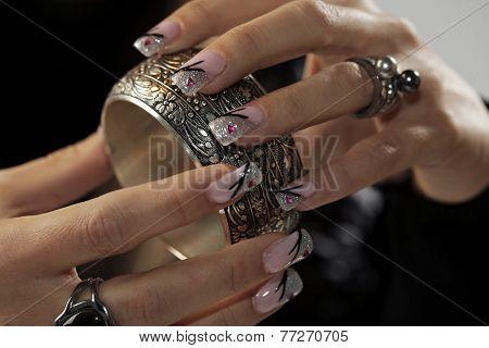 Bracelet In Hands