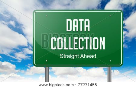 Data Collection on Highway Signpost.