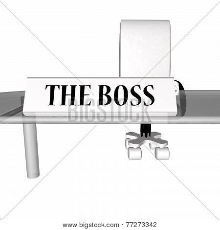 The Boss Desk