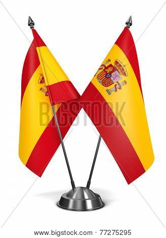 Spain - Miniature Flags.
