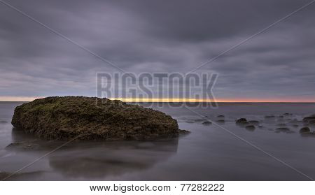 coast of the Caspian Sea
