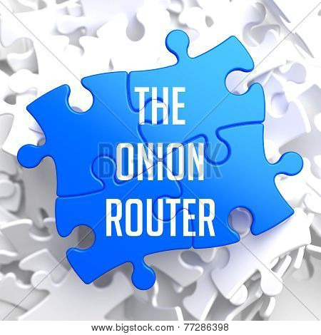 The Onion Router on Blue Puzzle.