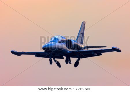 Jet Propelled Airplane