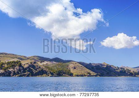 Lake Titicaca, Bolivia - general view
