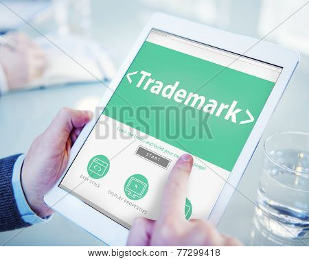Trademark Brand Copyright Marketing Commercial Concept