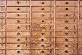 pic of kanto  - Wooden drawers with Japanese - JPG