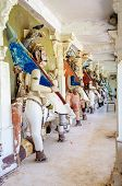 picture of hindu-god  - Ancient stone curved sculptures of Hindu Gods and godess - JPG
