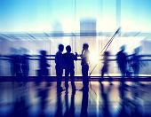 pic of team building  - Group of Business People in Office Building - JPG