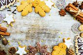image of christmas spices  - Christmas baking and christmas spices - JPG