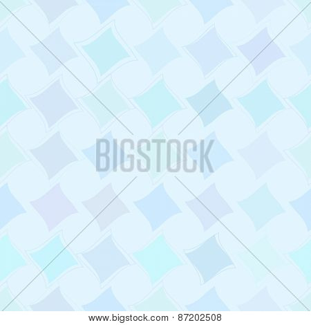 Seamless abstract background Square design Vector