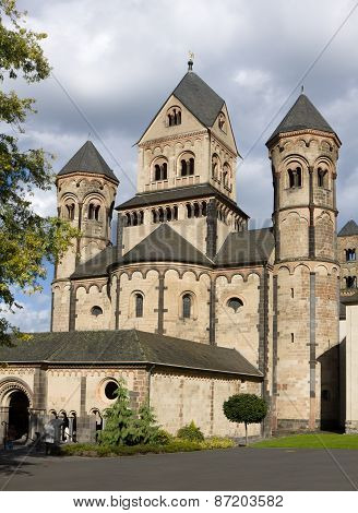 The Maria Laach Abbey In Germany