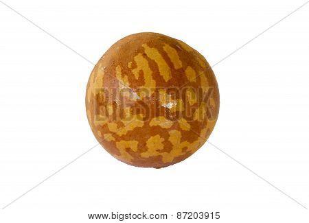 Avocado Seed On White Background