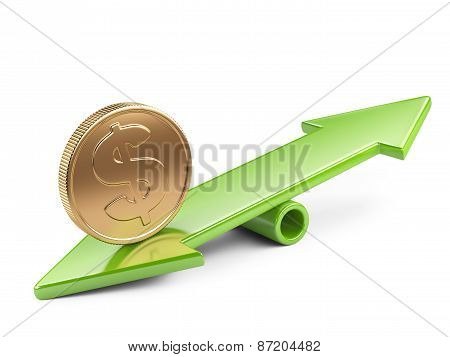 Coin On Seesaw