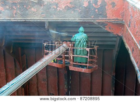 working deck washes hold