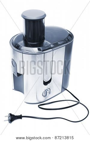 electric juicer on a white background
