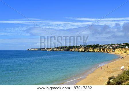 Armacao De Pera Beach on the Algarve