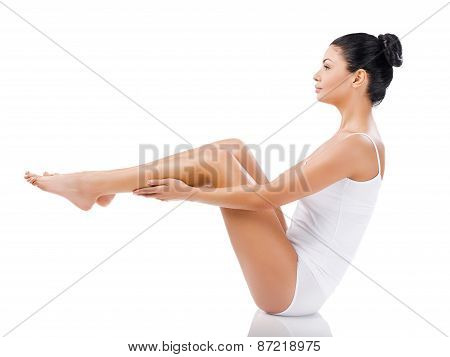 She Got Perfect Legs.