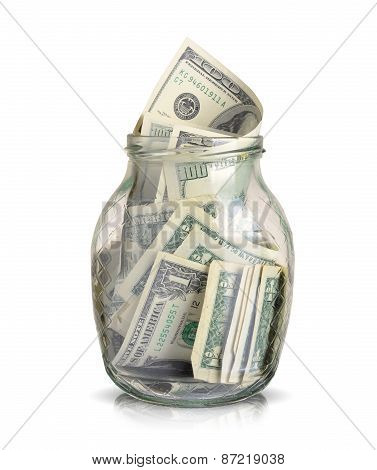 Dollars In A Jar
