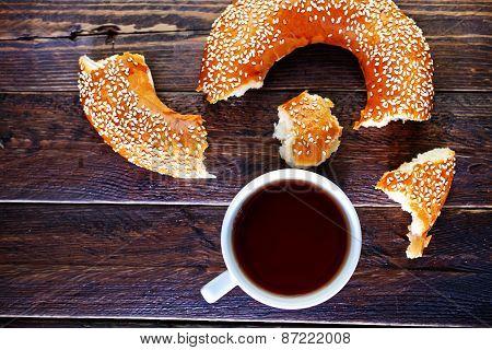 Tea And Bagel