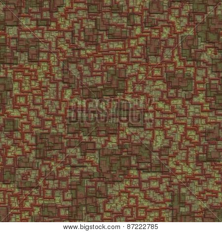 Relief Plaster Seamless Generated Texture