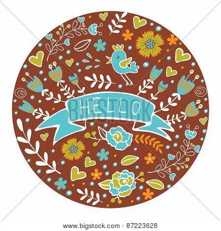 Concept hello card
