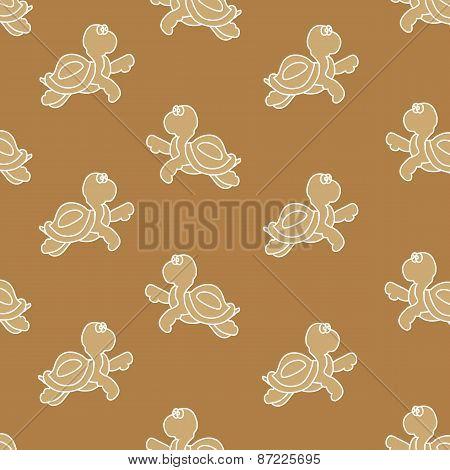 Tortoise (brown Background)