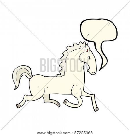 cartoon stallion