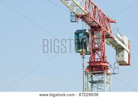 Tower Crane Closeup