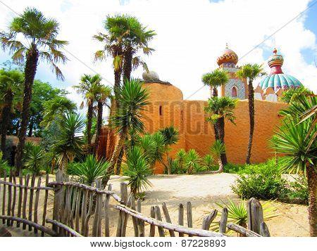 Fairytale Arabic architecture