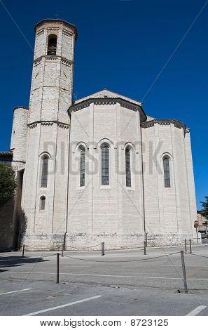 St. Francesco Church. Gubbio. Umbria.