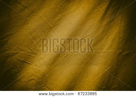 Gold Textile Background Or Texture