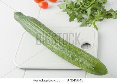 whole organic English cucumber