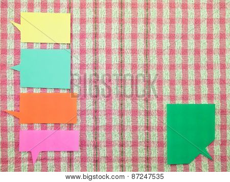 Colorful Balloons  (Pink Fabric Background)