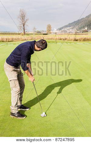 Good Golf Shot