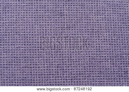 texture of natural fabric blue