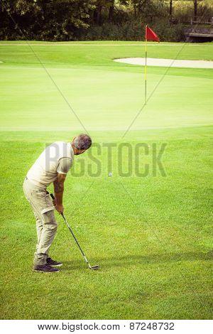 Relaxing Golf Green