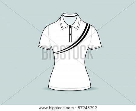 polo shirt outline