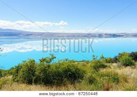 Lake Pukaki, Mackenzie Basin.