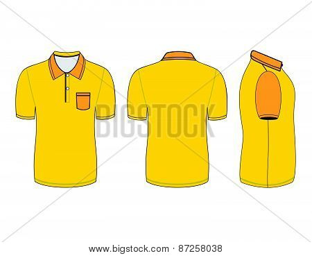 polo shirt outline