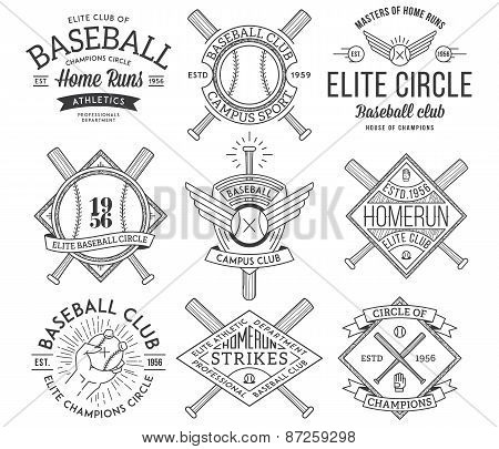 Baseball Badges And Crests Vol. 1