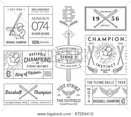 Baseball Badges And Crests Vol. 2