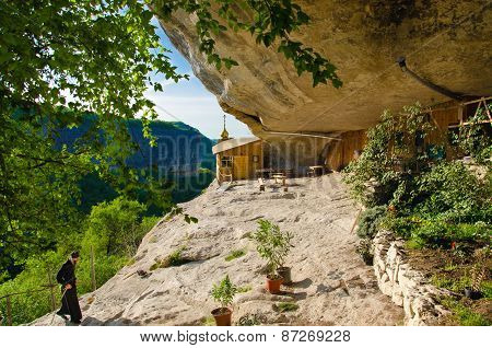 Cave monasterry, Chelter-Koba.