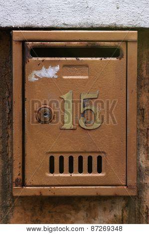 Vintage Letter Box