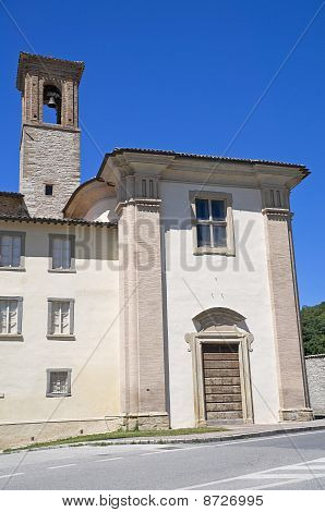 St. Benedetto Church. Gubbio. Umbria.