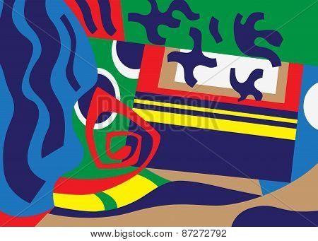 abstract art illustration
