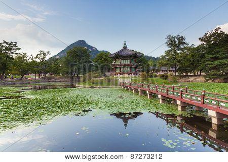 Hyangwonjeong Pavilion of Gyeongbokgung Palace